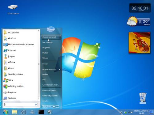 windows xp ubuntu themes free